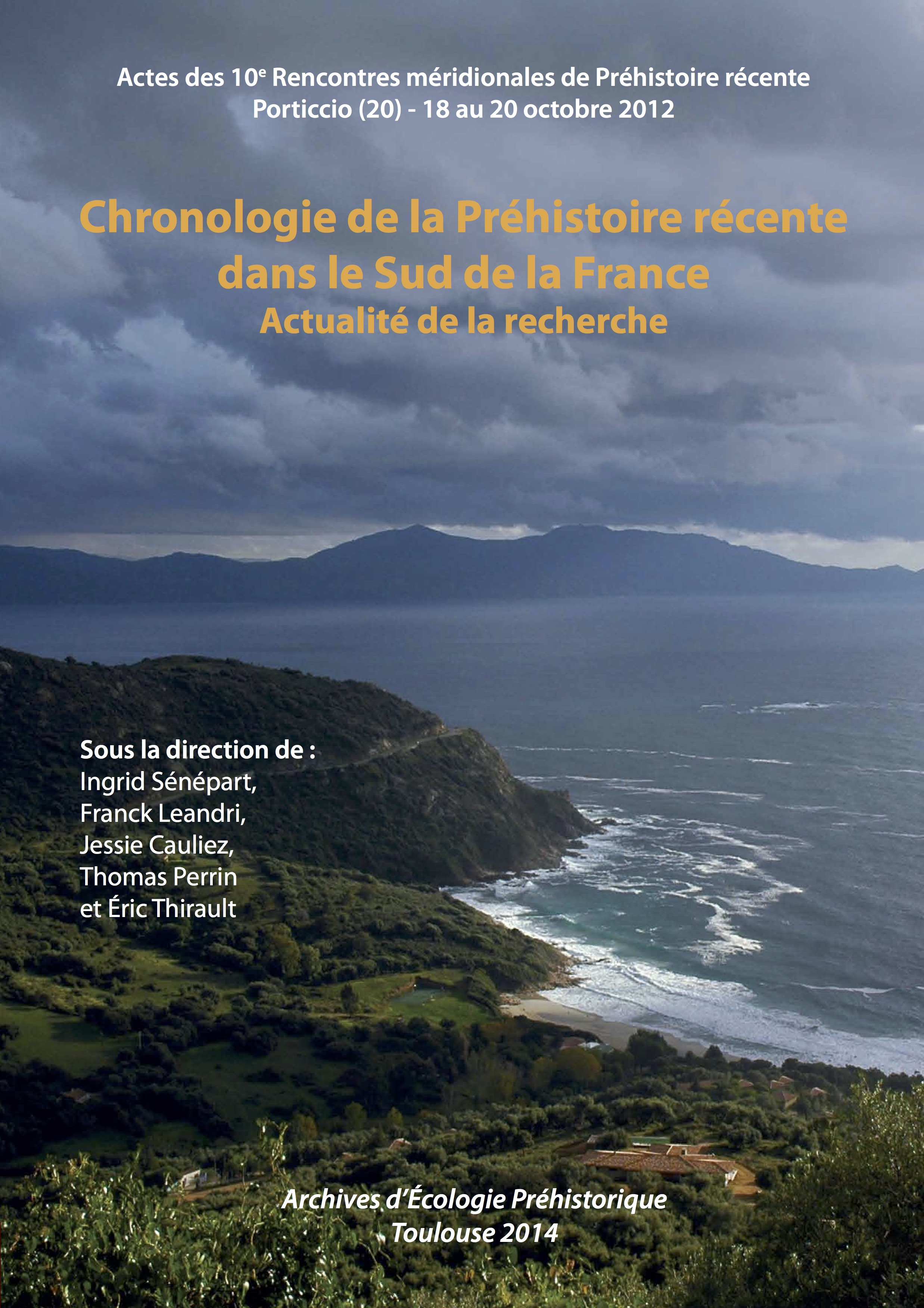 rencontres meridionales de prehistoire recente